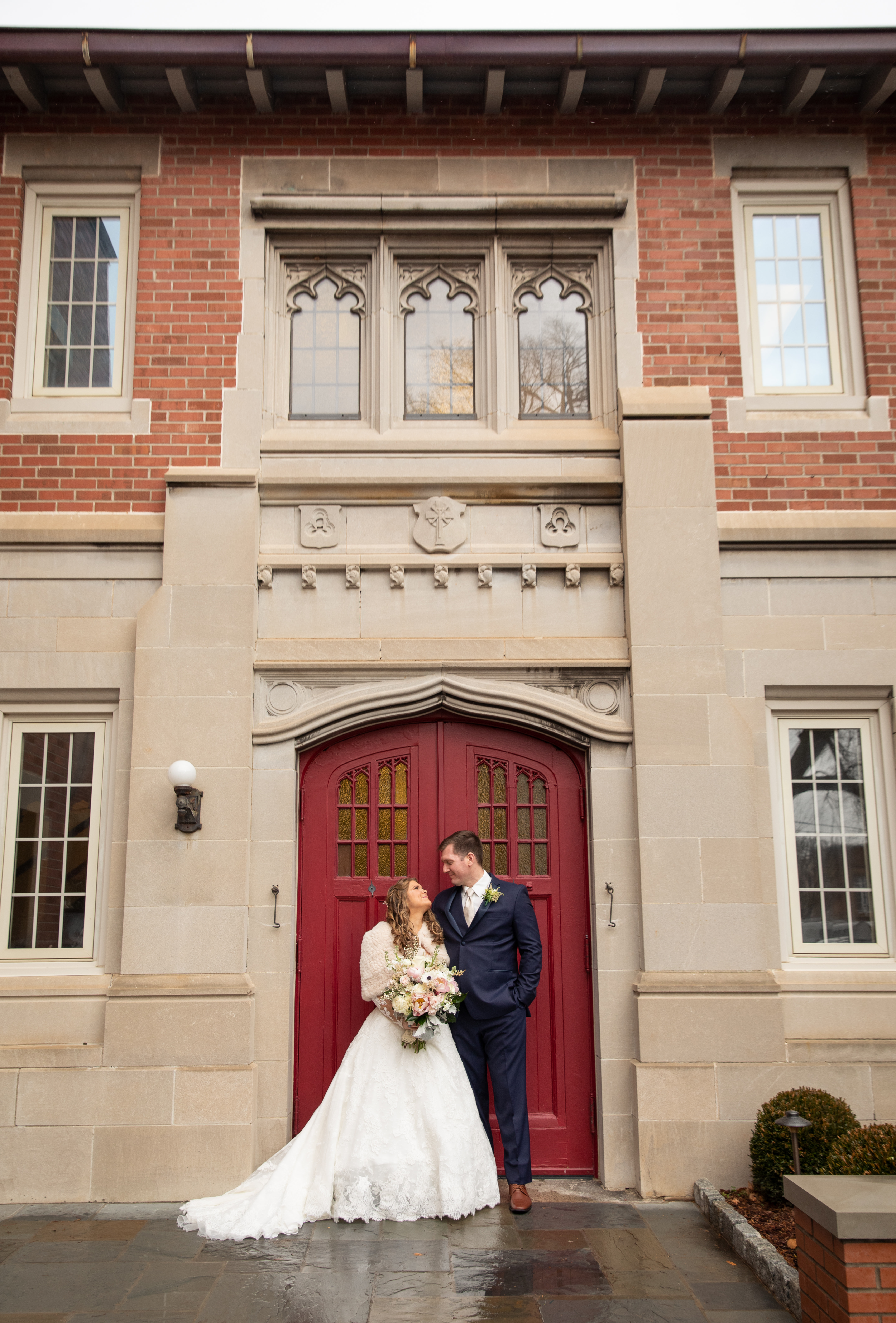 Wedding at trinity episcopal Asheville