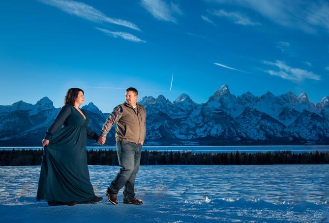 Grand Tetons Engagement photography