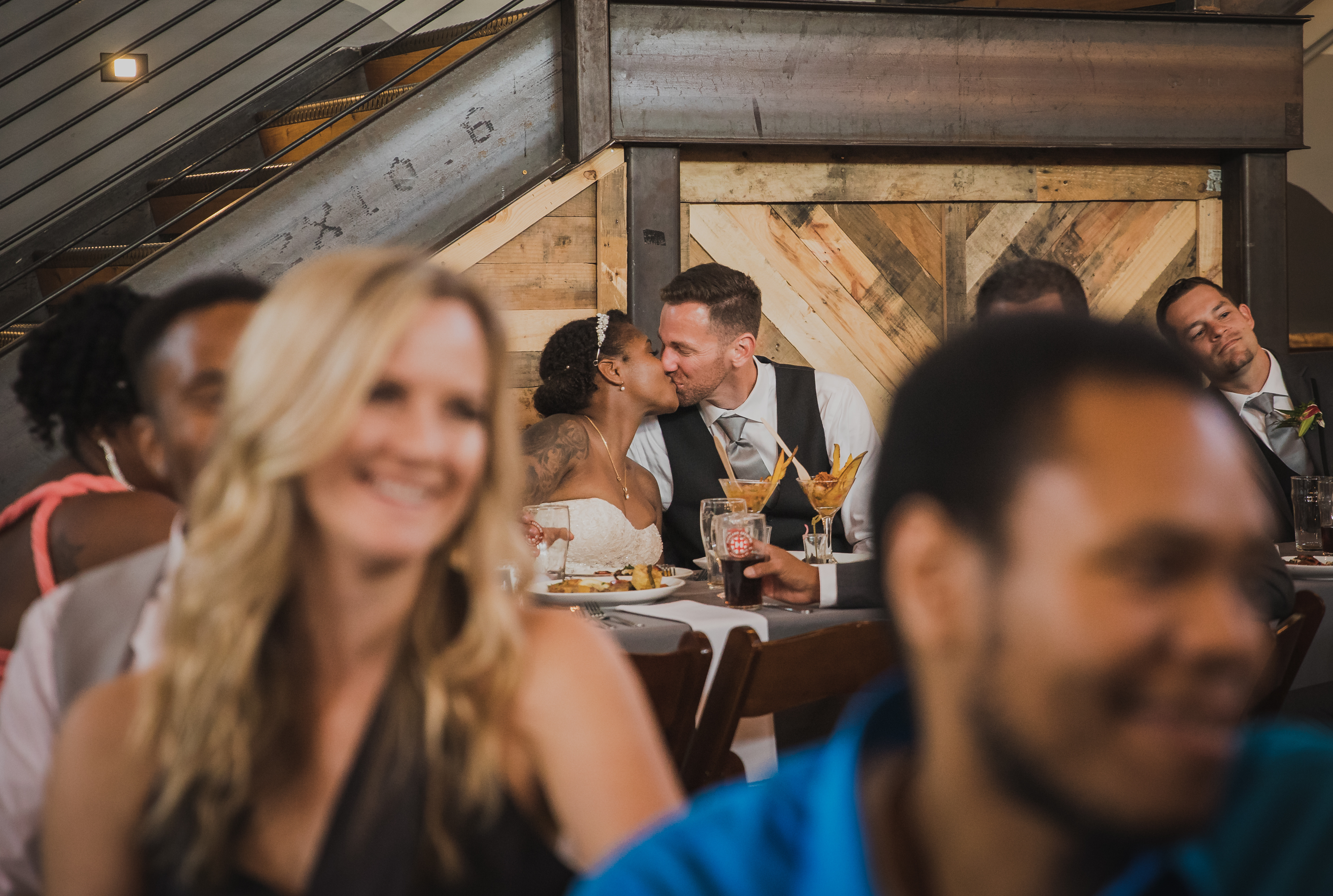 Highland Brewing Wedding Reception
