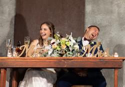 Overlook Barn Wedding Reception