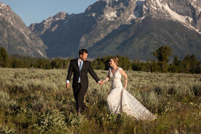 Wedding Photographers Jackson Hole
