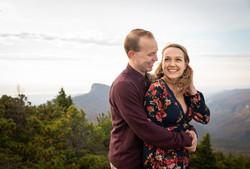 Engagement photos hawksbill