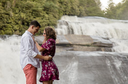 Waterfall proposal asheville