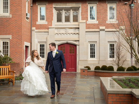 Homewood Wedding Asheville:  L + R