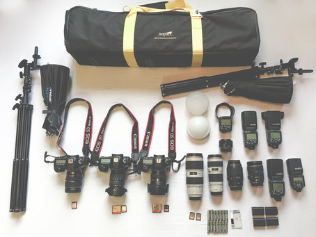 Gear check: What we bring to every wedding!!!
