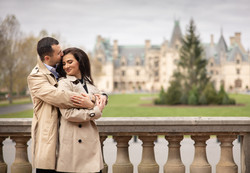 Biltmore engagement session
