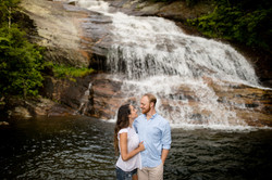 Waterfall Engagement Asheville