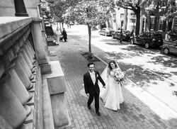 Society hill historic district wedding