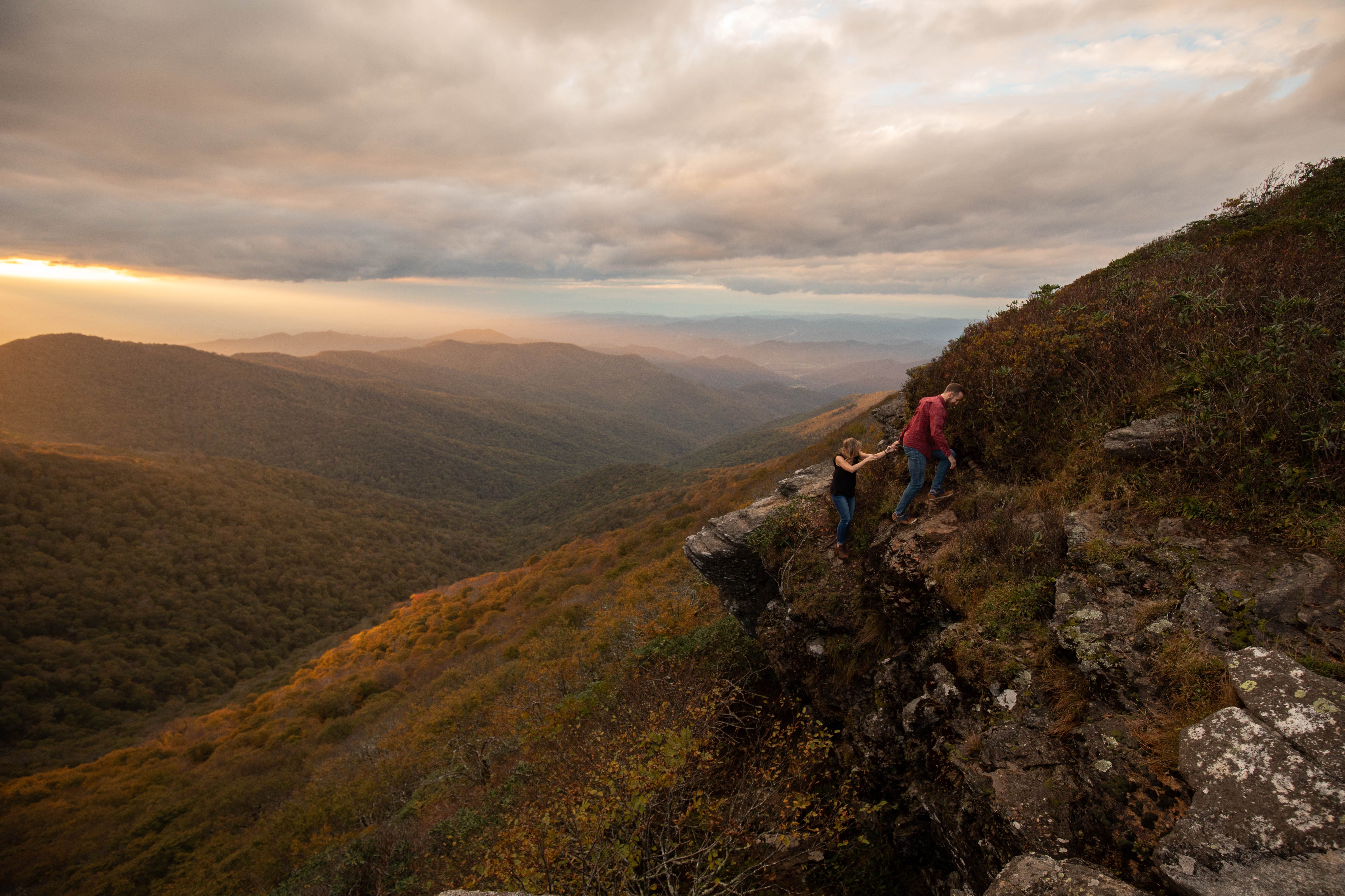 Craggy gardens engagements