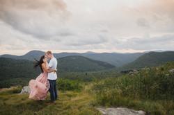 Asheville engagement photographers