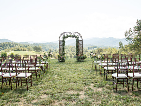 Beautiful wedding day at The Ridge: Marissa + Burel