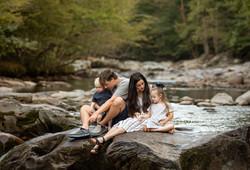 Lifestyle family photos asheville