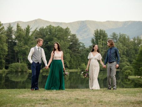 Double Wedding at Lake Eden Events & Lodging