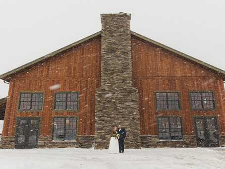 The Mill at Rock Creek Wedding : H + M