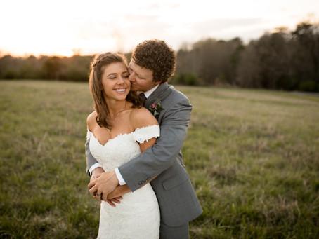 Rustic Carolina Wedding: C + C