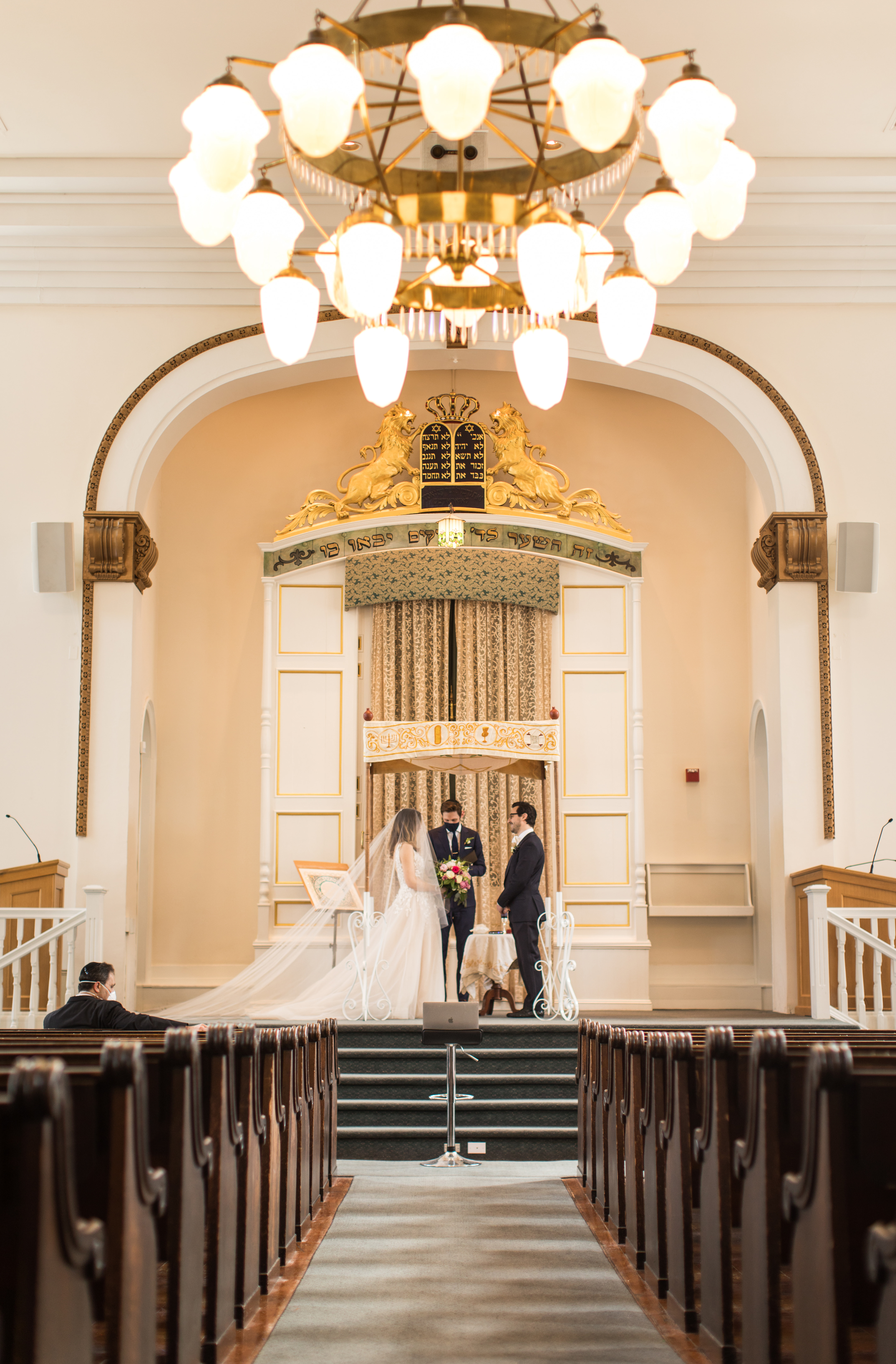 Society Hill Synagogue Wedding