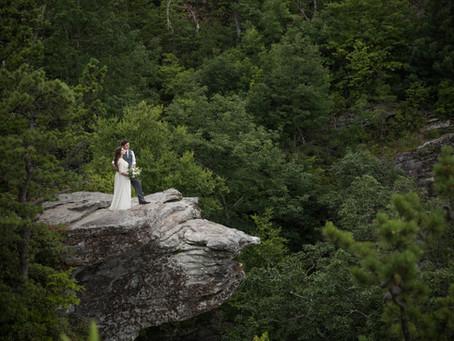Linville Gorge Elopement:  Sharon + Forrest