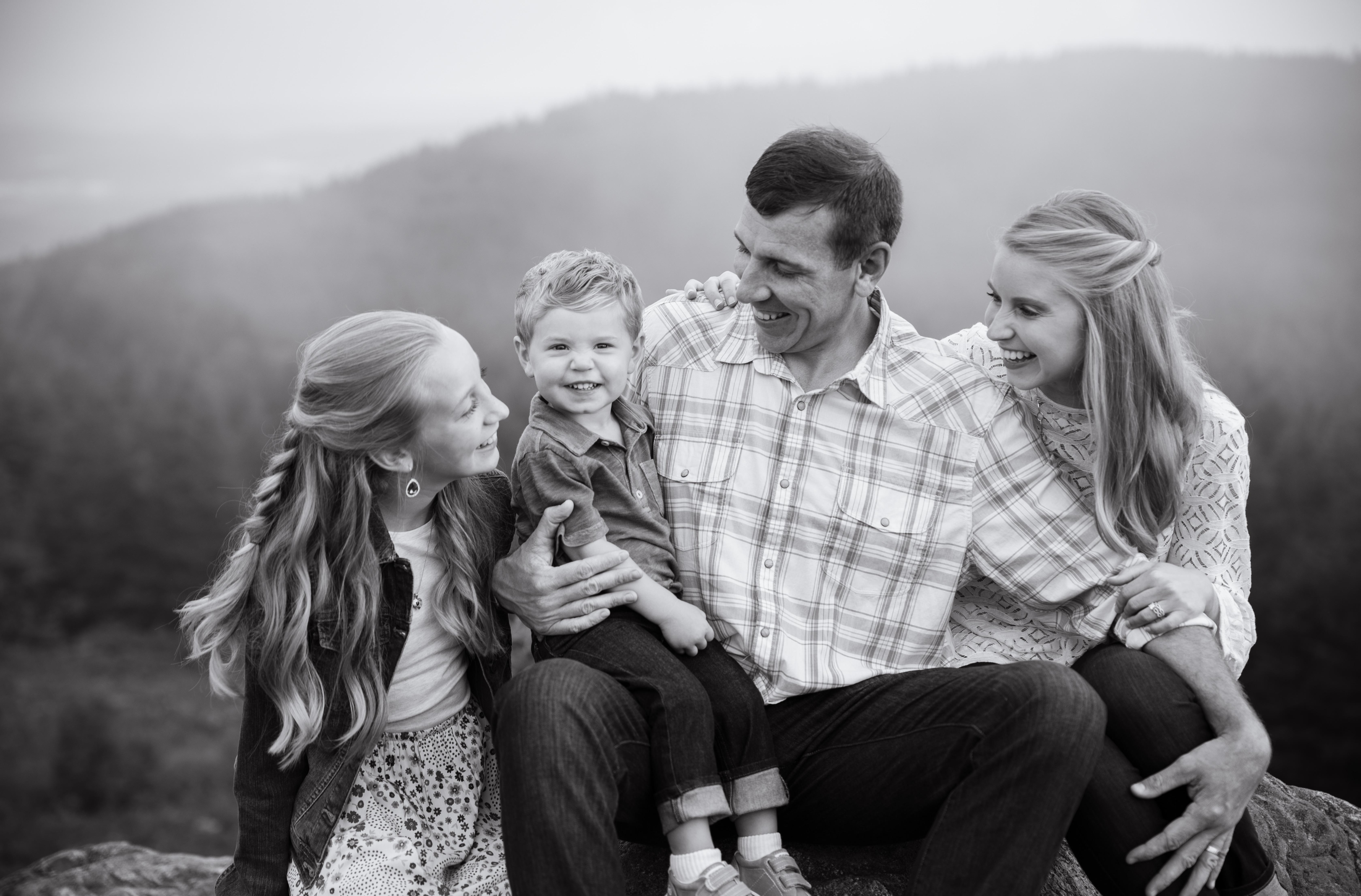 asheville lifestyle family photos