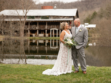 Memory Mountain at Wolf Laurel Wedding: A + J