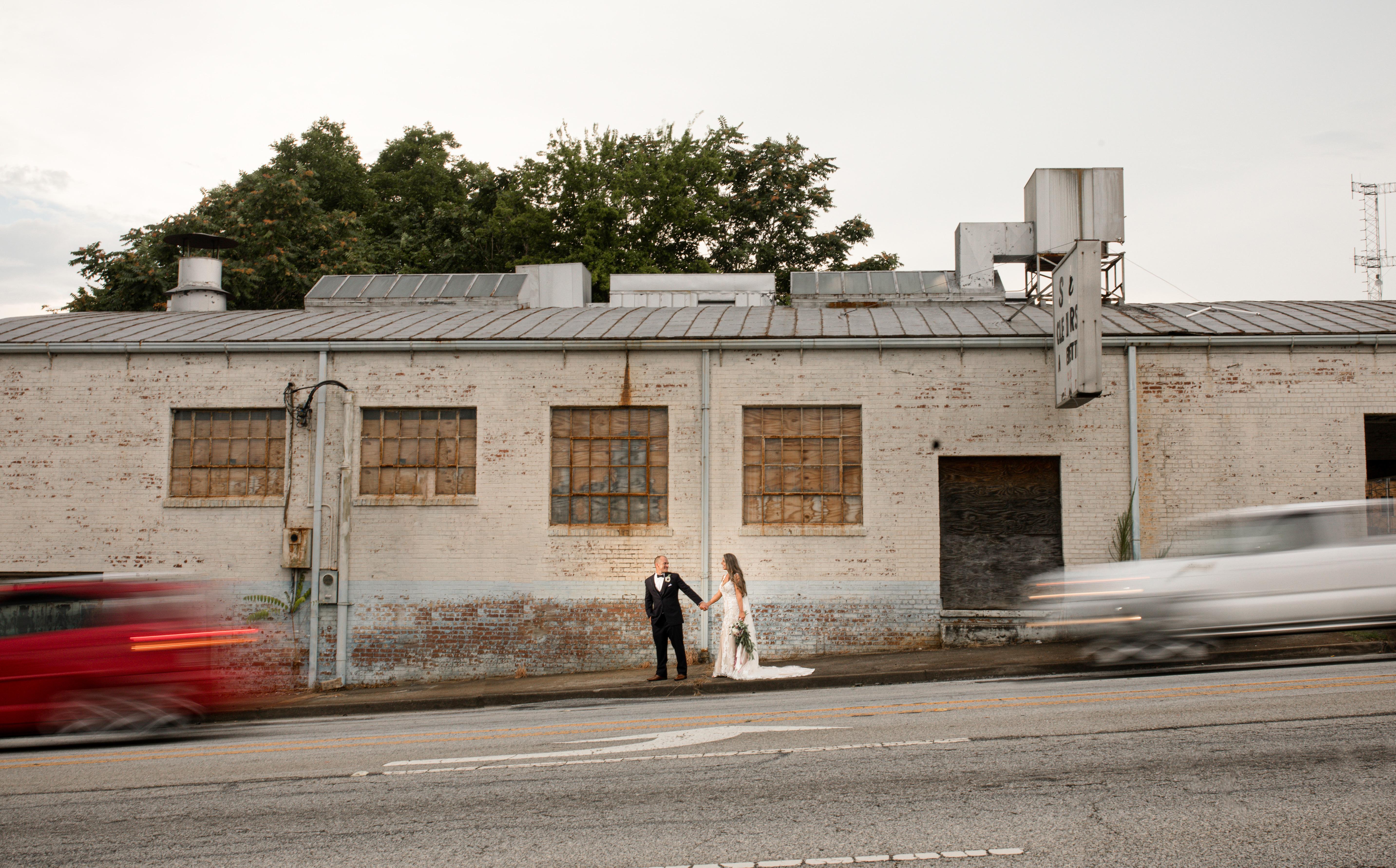 Bleckley Station wedding photos