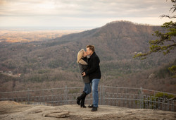Chimney Rock State Park Engagement