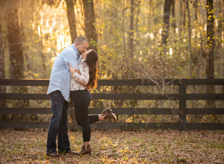 Rustic Anniversary Session : A + C