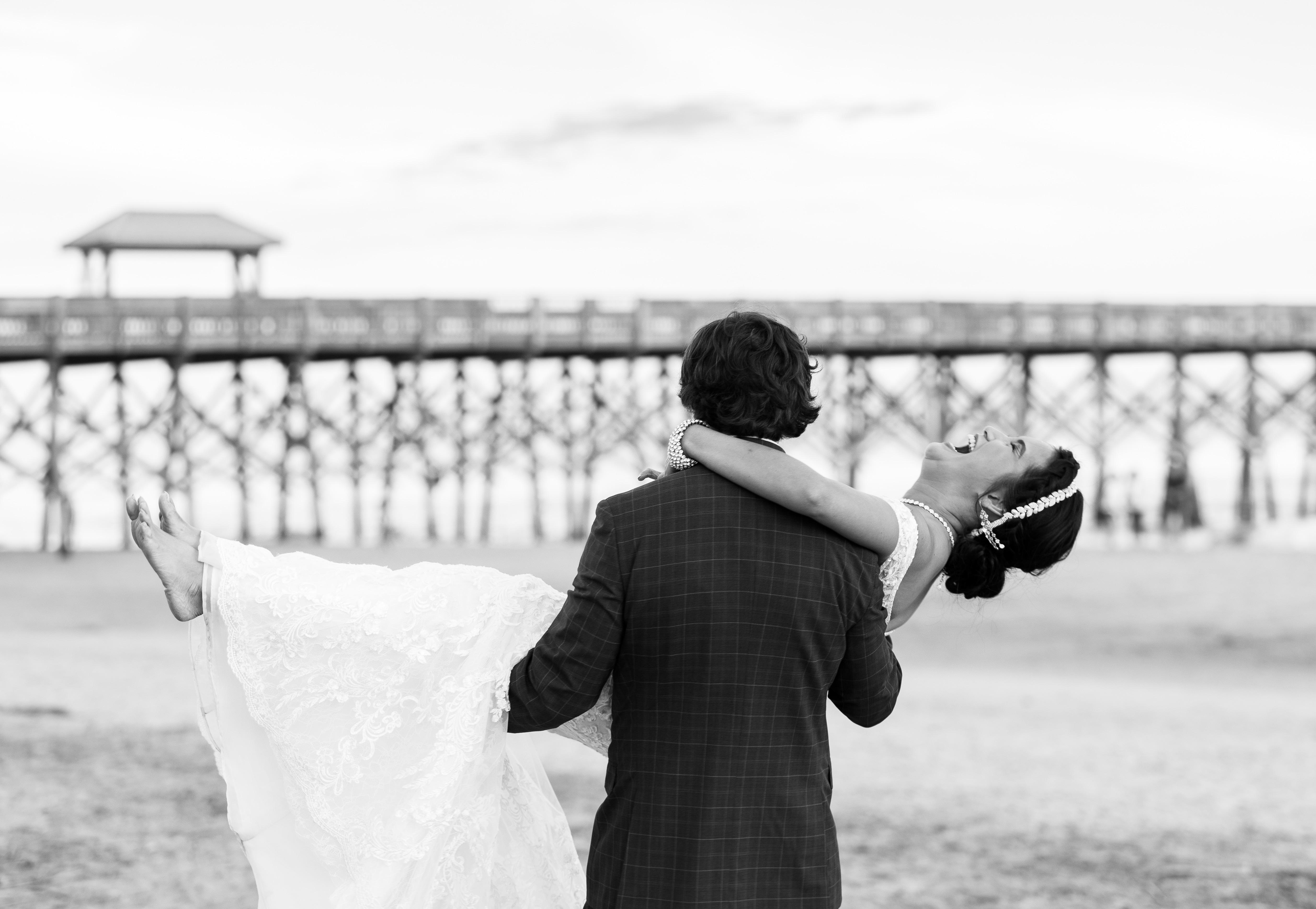 Beach wedding Charleston, SC
