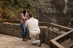 Looking Glass Fall Engagement