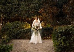 McGill Rose Garden Bridal session