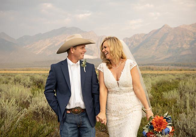 Grand Teton Wedding