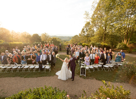 Crest Center and Pavilion Wedding: J + J