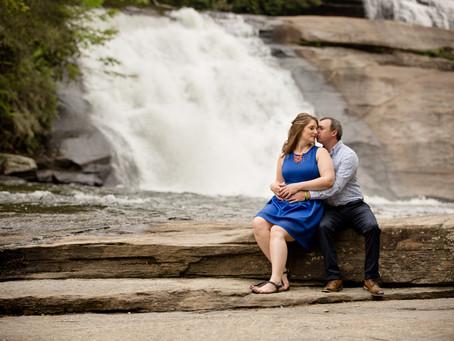 Triple Falls Engagement:  Stephanie & Tyler