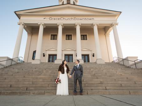 Westin Poinsett Wedding:  Megan + Andrew