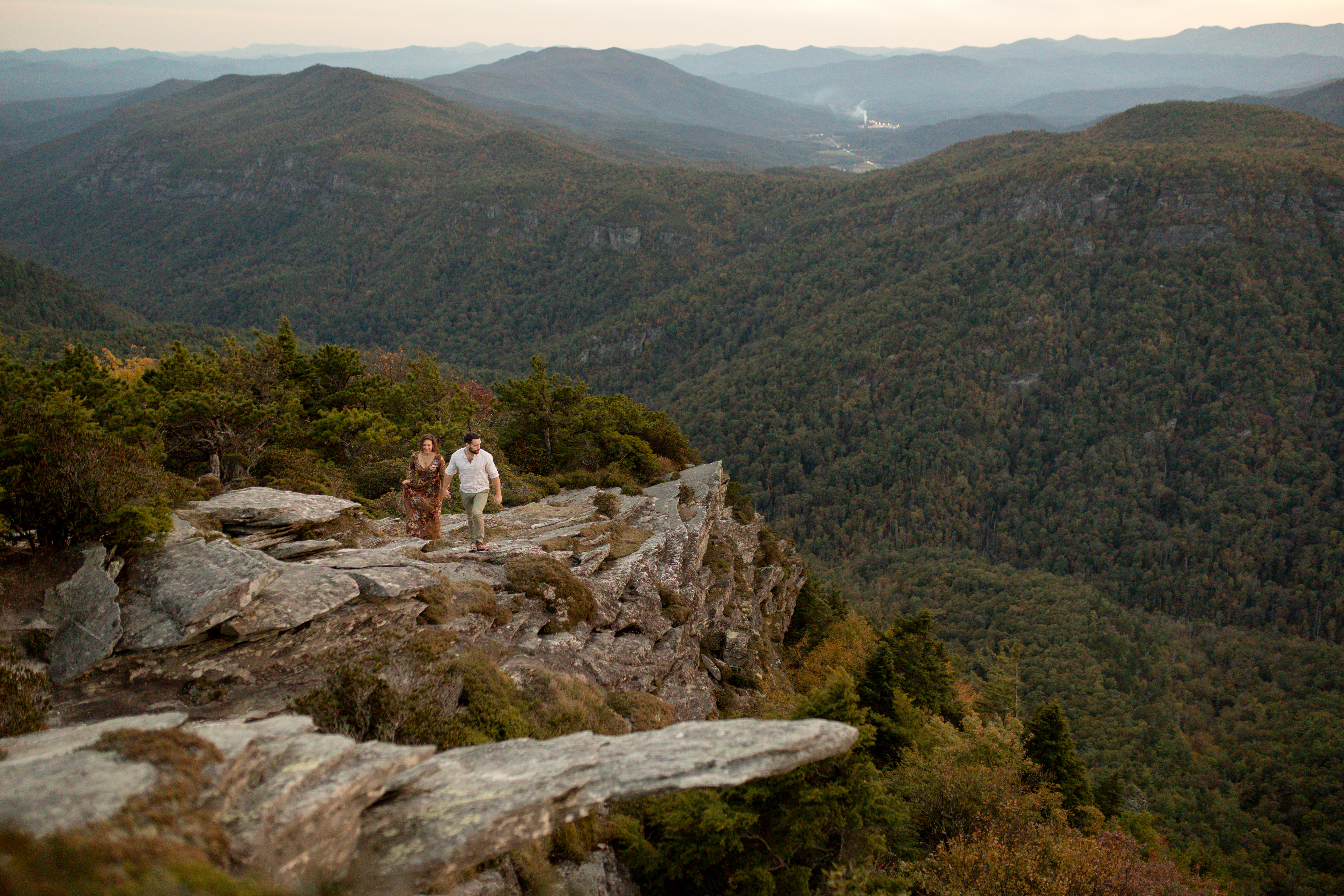 hawksbill mountain trail engagement
