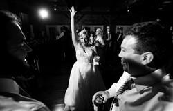 Inn at Tranquility Farm wedding reception