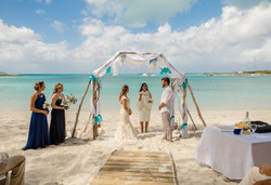Destination Beach Wedding Bahamas