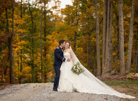 Fall Wedding at Hidden Hill Venue: J + J