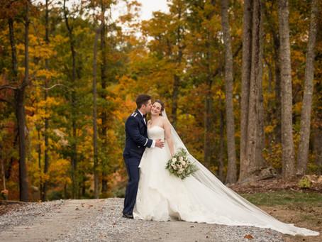 Fall Wedding at Hidden Hill Venue: J + J