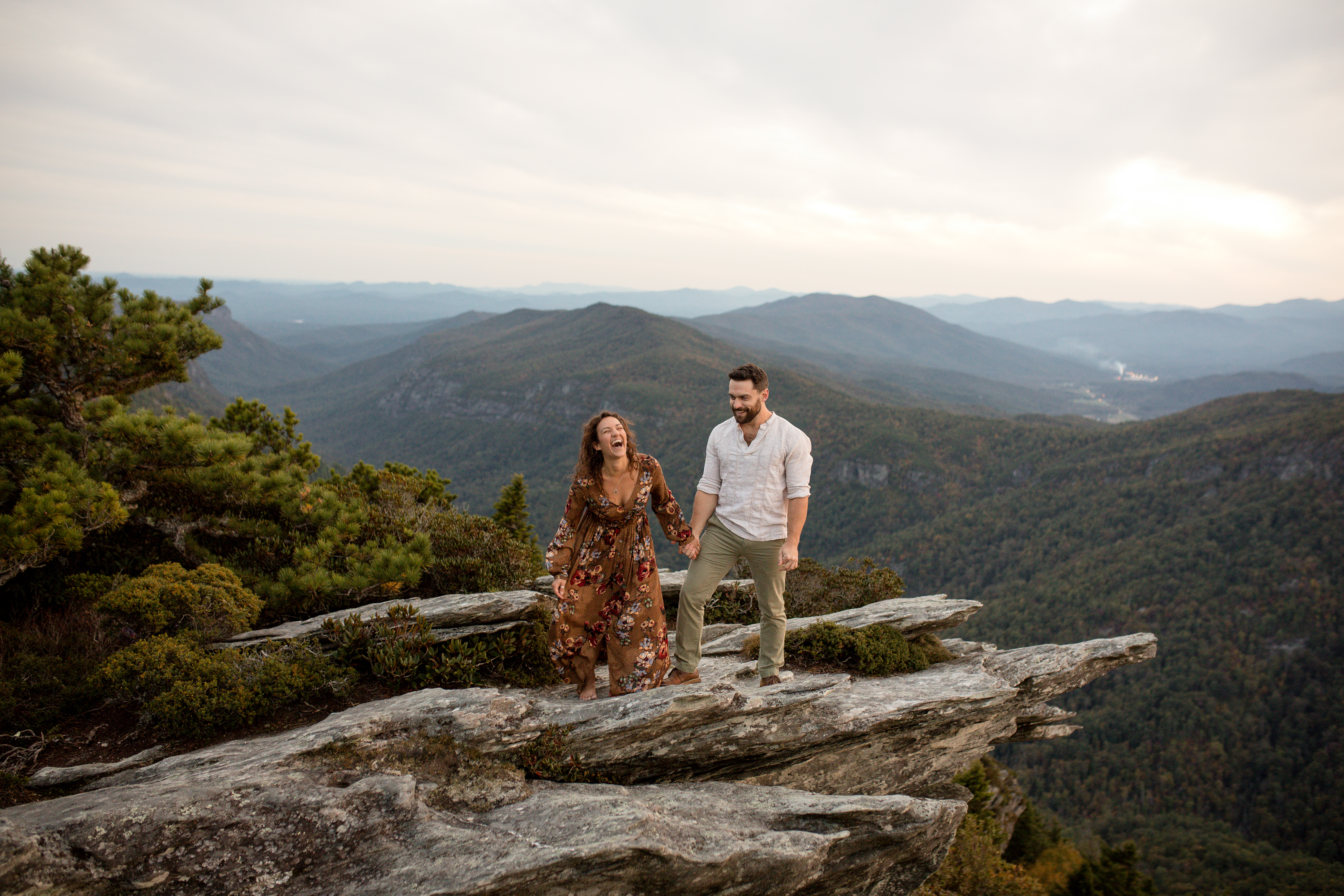 Engagement at hawksbill Mountain