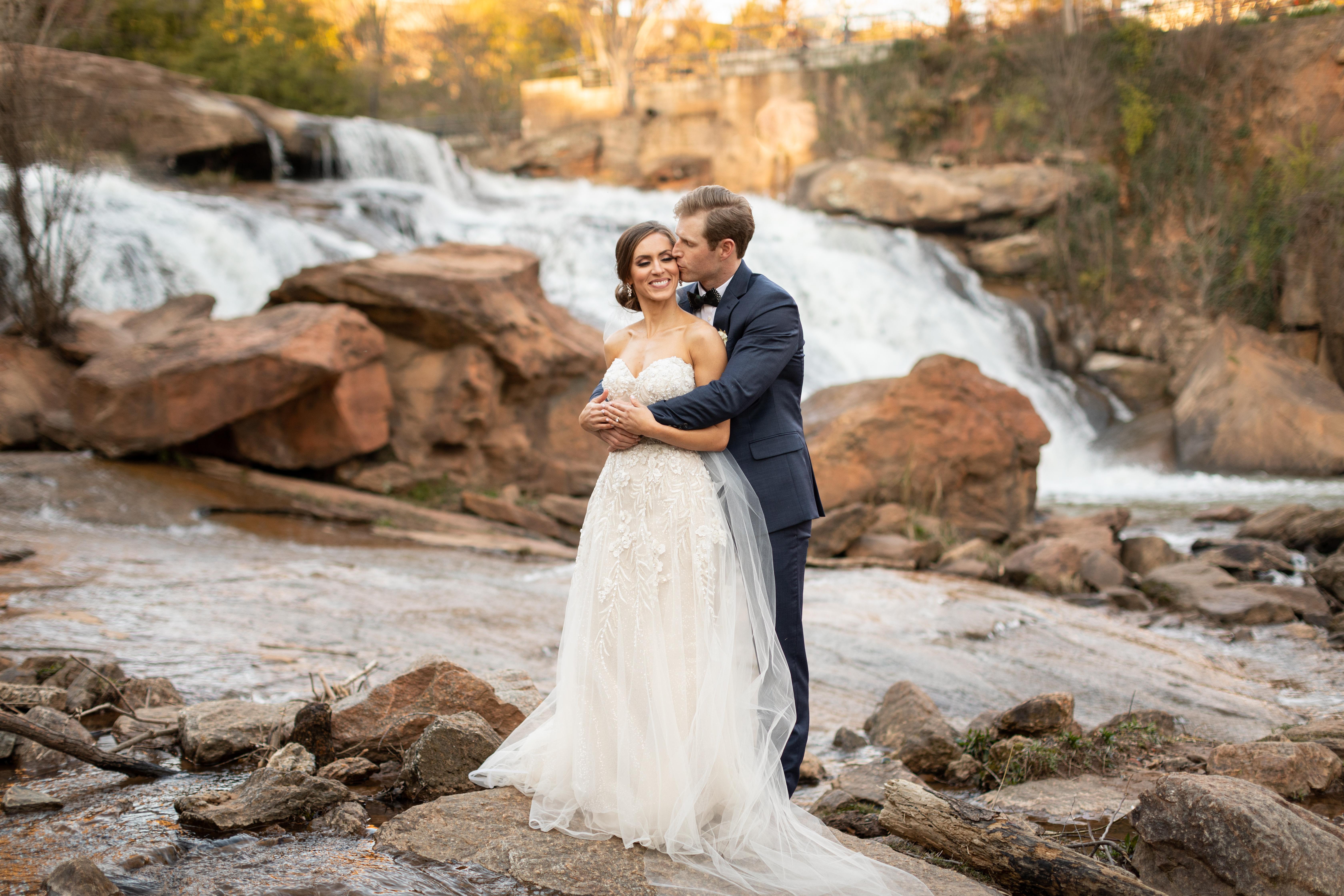 Falls Park Wedding