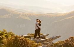 Mountain proposal near Asheville