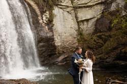 Asheville Waterfall Elopement
