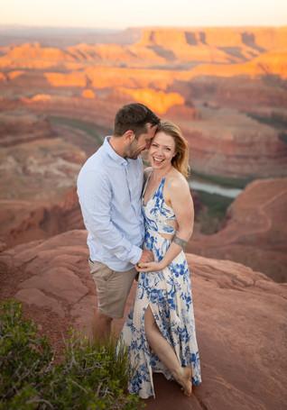 Engagement photos Moab