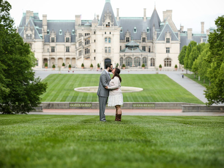 Biltmore Engagement Photos - How to plan for the photos you want!
