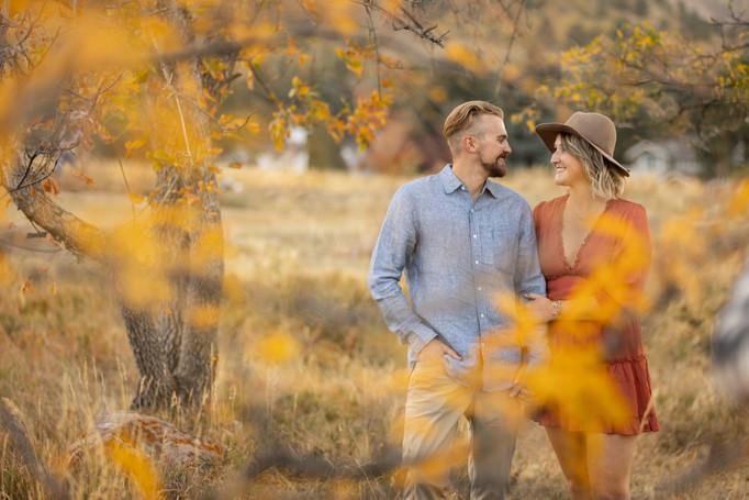Engagement photos jackson hole