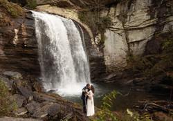 Asheville Waterfall Elopements