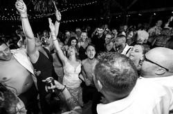 Camp Pinnacle Wedding Reception