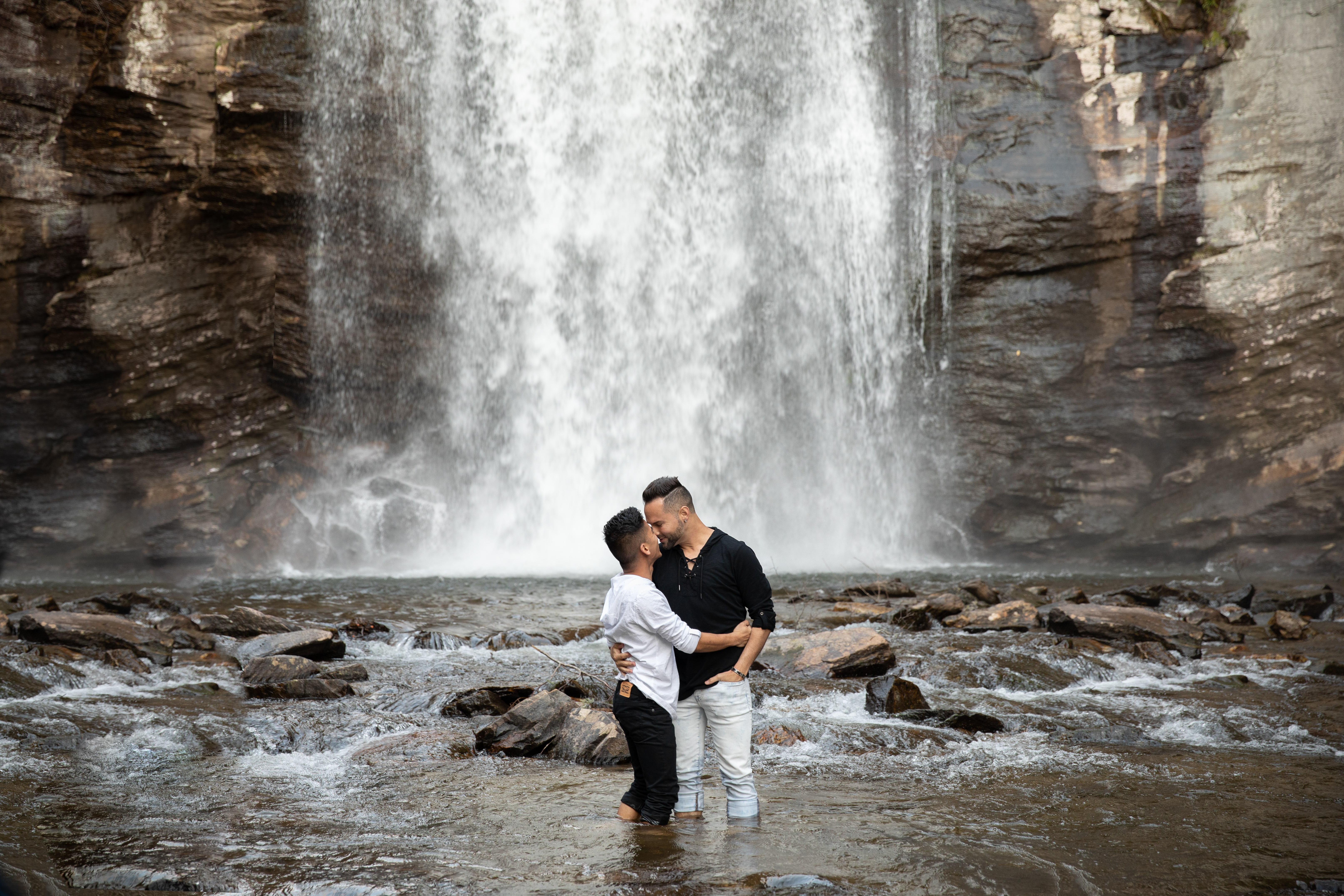 Looking Glass Falls Engagements