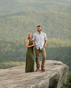 Engagement photos at Rough Ridge