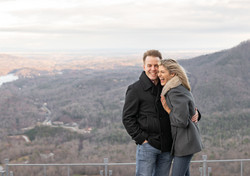 Chimney Rock Engagement